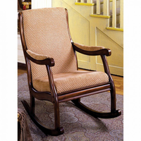 Furniture of America FOA-CM-AC6408 Liverpool Transitional Rocking Chair