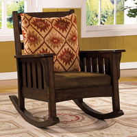 Furniture of America FOA-CM-AC6401 Morrisville Traditional Rocking Chair