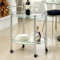 Furniture of America FOA-CM-AC226 Traco Contemporary Serving Cart