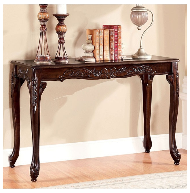 Furniture of america sofa table cheshire for Furniture of america sofa table