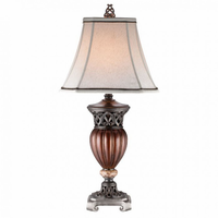 Furniture of America FOA-L94190T-2PK Luna Traditional Table Lamp (2/ctn)