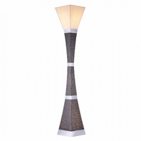 Furniture of America FOA-L94179FTR-PK Pandora Contemporary Torchiere Lamp