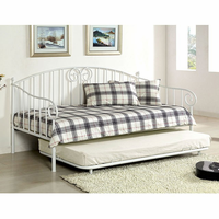 Furniture of America FOA-CM1603WH Hamden Transitional Daybed, White