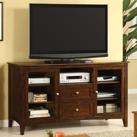 "Furniture of America FOA-CM5420-TV Lancaster Transitional 60"" Tv Console"