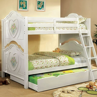 Furniture of America FOA-CM-BK119-BED Isabella Iii Novelty Twin/twin Bunk Bed