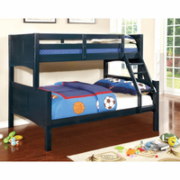 Furniture of America FOA-CM-BK608T-BL-BED Prismo Ii Cottage Twin/twin Bunk Bed