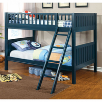 Furniture of America FOA-CM-BK615-BED Solpine Transitional Twin/twin Bunk Bed