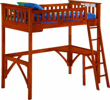 Ginger Loft Twin Bed