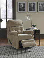 Ashley Furniture Glider Recliner, Caramel