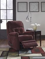 Ashley Furniture Glider Recliner, Mulberry