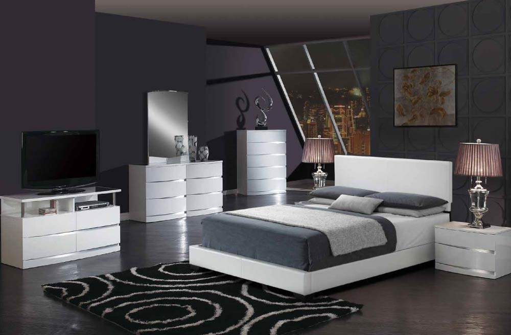 Global Furniture 8103 WH AURORA WH White Aurora Bedroom Set. Global  Furniture Bedroom Sets