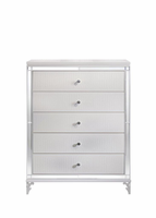 Global Furniture CATALINA-CH MET/WH (M) CHEST METALLIC WHITE