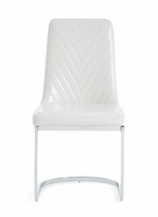 Global Furniture D1067DC - WH DINING CHAIR 5.3325