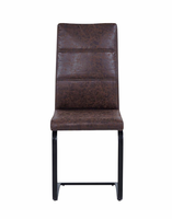 Global Furniture D201DC  DINING CHAIR BROWN