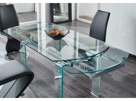 Global Furniture D2160DT DINING TABLE Glass