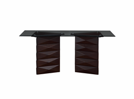 Global Furniture   D3972DT  DINING TABLE Glass, MDF