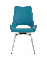 Global Furniture D4878DC-TURQ DINING CHAIR TURQUOISE