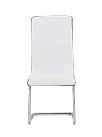 Global Furniture D490DC-WH (M) DINING CHAIR 3.814