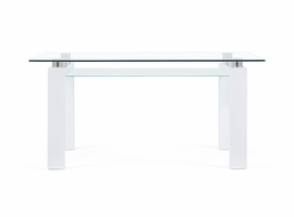 Global Furniture D648DT DINING TABLE GLOSSY WHITE