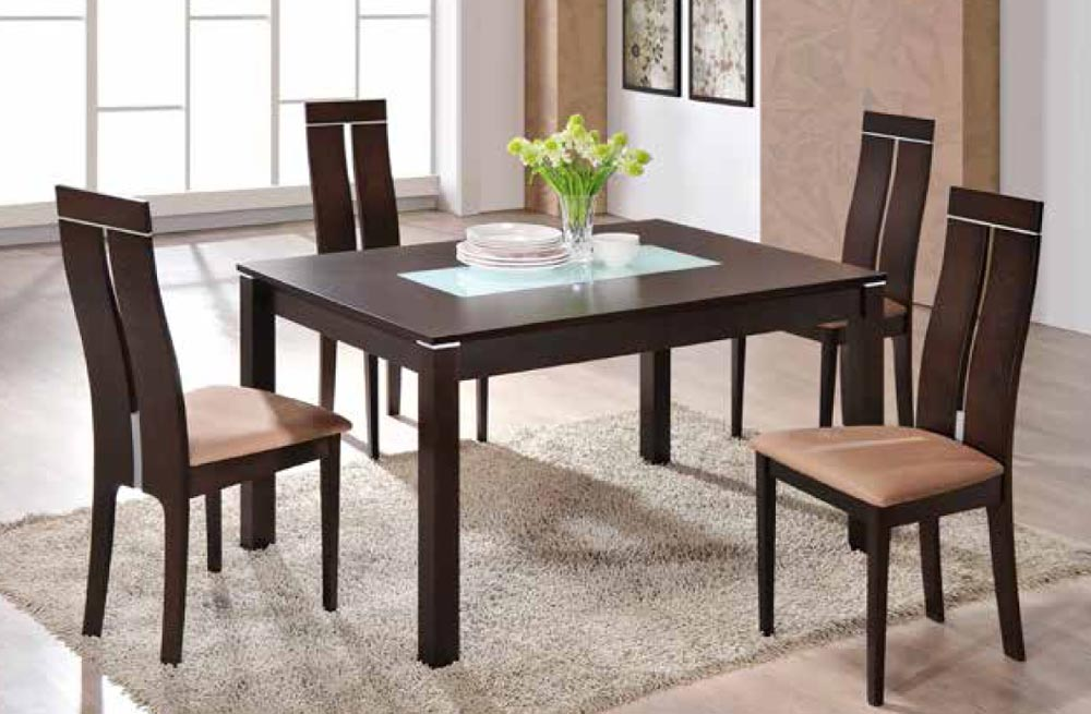 global furniture d6948dt dark walnut dining table