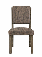 Global Furniture D855DC-BR DINING CHAIR BROWN