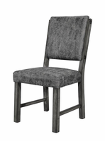 Global Furniture D855DC-GR  DINING CHAIR GREY