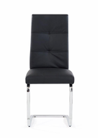 Global Furniture   D987DC  DINING CHAIR BLACK