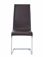 Global Furniture D991DC DINING CHAIR CHOCOLATE BROWN
