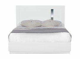 Global Furniture JODY(911A)-WH-KB (M) KING BED WHITE HG