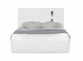 Global Furniture JODY(911A)-WH-QB (M) QUEEN BED WHITE HG