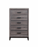 Global Furniture KATE - CH CHEST FOIL GREY
