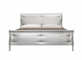 Global Furniture MARLEY-S-QB QUEEN BED SILVER