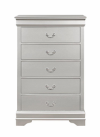 Global Furniture MARLEY - SILVER - CH CHEST SILVER