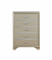 Global Furniture NOELLE - CH CHEST CHAMPAGNE