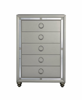 Global Furniture RILEY (1621) CHEST CHEST SILVER
