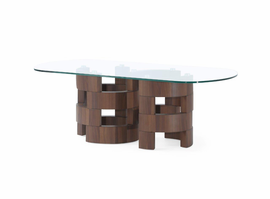 Global Furniture T866C COFFEE TABLE BROWN PAPER