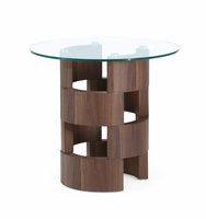 Global Furniture T866E END TABLE BROWN PAPER