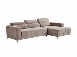 Global Furniture U0037-SECTIONAL 2PC SECTIONAL HYDE OAT HYDE OAT