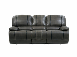 Global Furniture U1952-SEC 6PC SECTIONAL GIN RUMMY CHARCOAL/BLACK