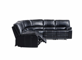 Global Furniture U8135-SEC 6 PCS SECTIONAL PLUTO BLACK PLUTO BLACK