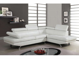 Global Furniture U9782 WH Sectional