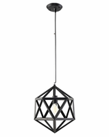 """Hadron 16"""" Chandelier, Black [FREE SHIPPING]"""