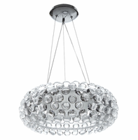 """Halo 20"""" Chandelier, Clear [FREE SHIPPING]"""