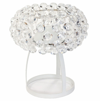 Halo Table Lamp, Clear [FREE SHIPPING]