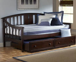 Hillsdale Alexander Daybed in Deep Brown