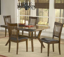 Hillsdale Arbor Hill 5-Piece Dining Set in Colonial Chestnut