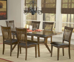 Hillsdale Arbor Hill 7-Piece Dining Set in Colonial Chestnut