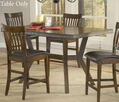 Hillsdale Arbor Hill Extension Gathering Table in Colonial Chestnut