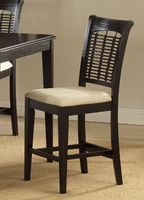 Hillsdale Bayberry Cherry Counter Stool - Set of 2