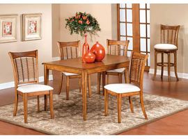 Hillsdale Bayberry/Glenmary Oak Rectangle Dining Set
